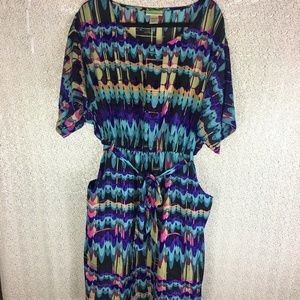 Tessuto Tribal Print Dress